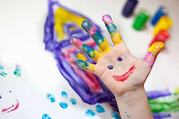 finger painting benefits