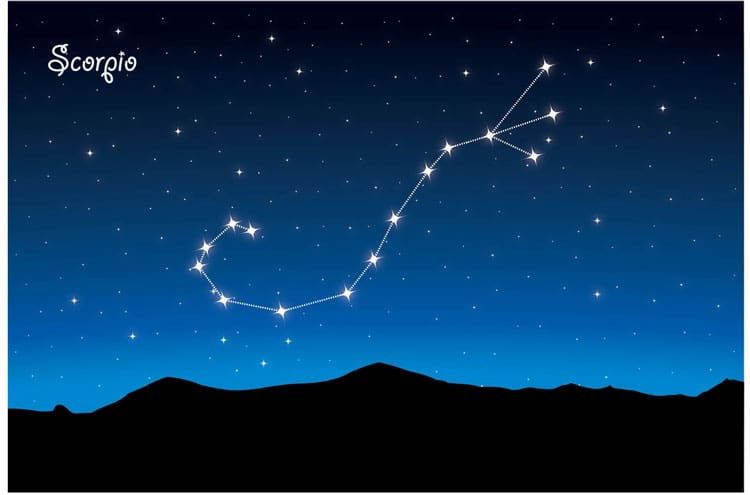 scorpio Constellations for kids