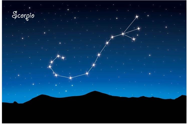 scorpio Constellations for kids