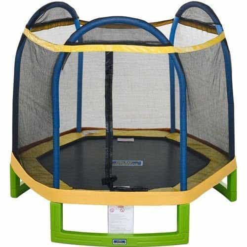 Jump Zone™ Indoor / Outdoor 7' Round Kids Trampoline