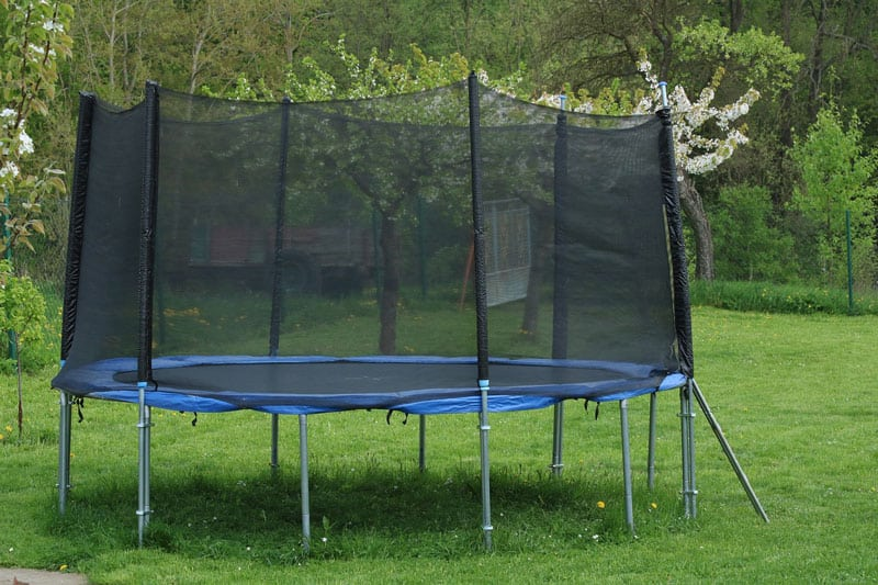 repurposing old trampolines