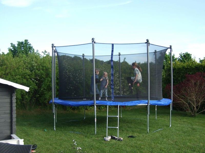 setup trampoline