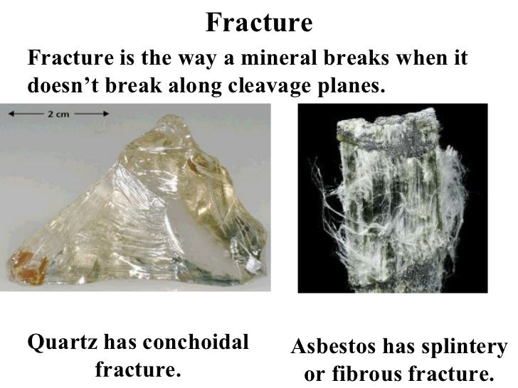 mineral fracture