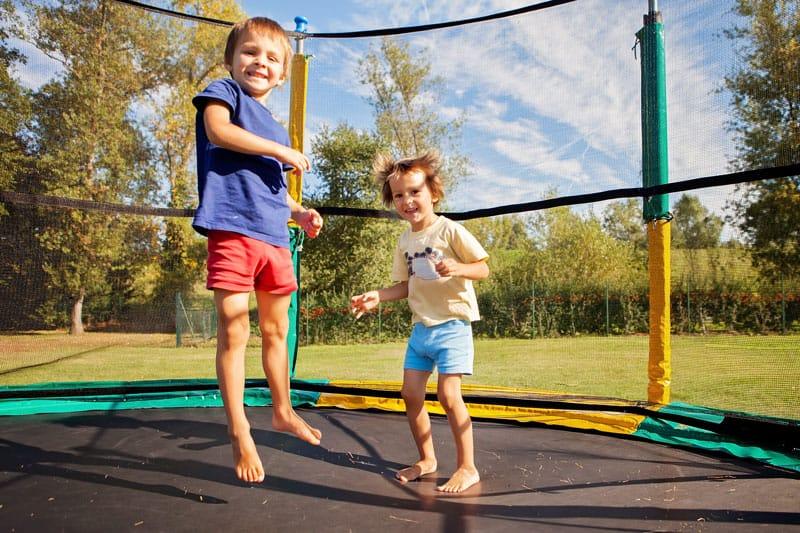 secure trampoline