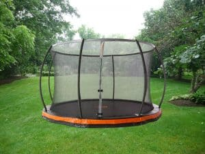 DIY In-Ground Trampoline: How to Bury One?