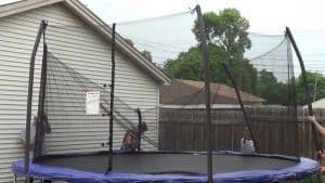 How to Put A Net on A Trampoline Easily