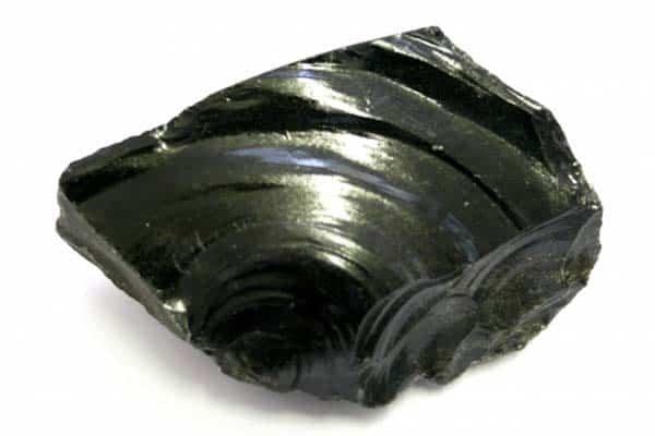 igneous glassy texture
