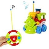 Liberty Imports Cartoon Remote Control Train