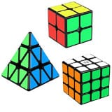 Speed Cube Set, Aitbay Cube Bundle