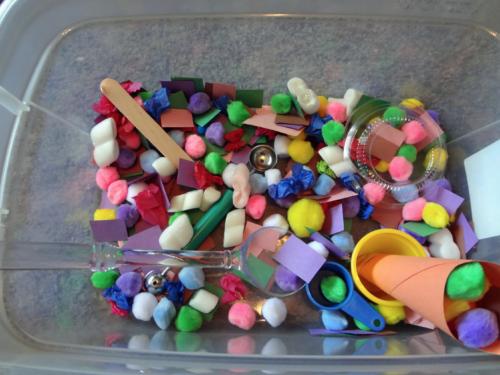 Taste-Safe Sensory Bin Ideas